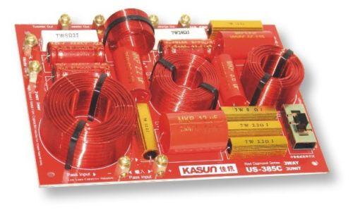 ل KASUN US-385C 3 طريقة 3 وحدة مرحبا فاي المتكلم تردد مقسم كروس مرشحات X2PCS