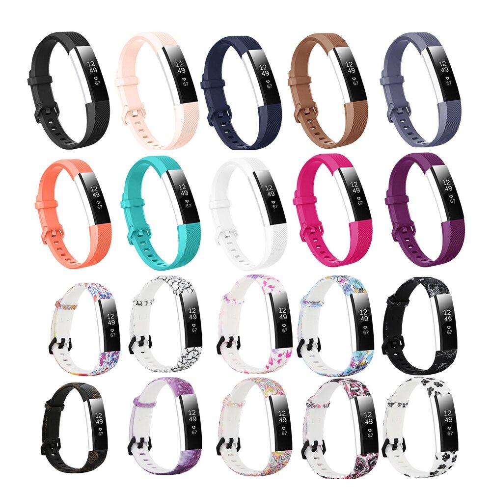 Bandas de silicona Honecumi para Fitbit Alta HR accesorios de repuesto bandas de reloj correas de muñeca para Fitbit Alta HR/Alta paquete a granel