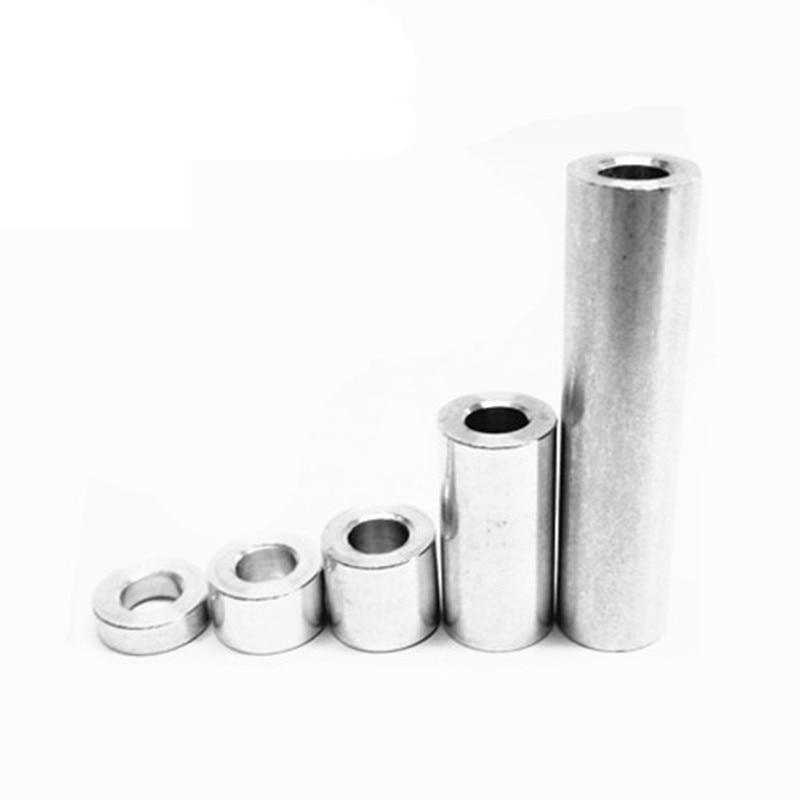 10pcs Openbuilds aluminum spacers V-slot Isolation Column Separate Pillar Quarantine Bore 5.1MM 3D Printer Parts