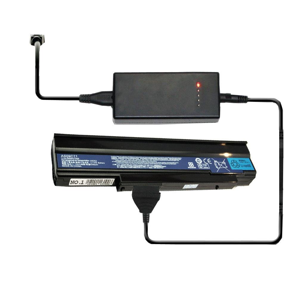 Cargador de batería portátil externo para Acer 006BT.021 AK.009BT! 056 BT.00603.012 BT.00603.039 BT.00603.040 BT.00603.044 00604.005