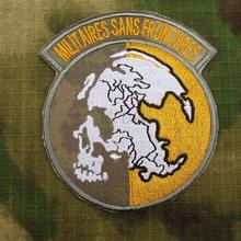 A-TACS AU militaire Sans Frointieres patch de broderie Morale B3281