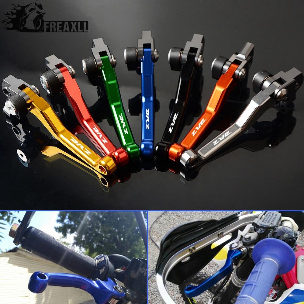 Palancas de embrague de freno Pozo de la bici de la suciedad de pivote de motocicleta para Suzuki DRZ400S DRZ400SM DRZ 400 S SM 2000-2017, 2001, 2002, 2003 de Motocross