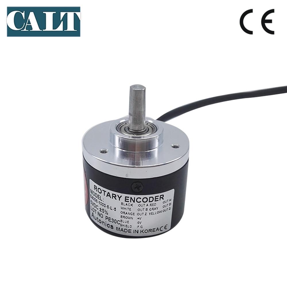 E40S6 line driver output incremental encoder ac motor speed controller rotary encoder 100 360 500 1000 1024 2000 2500ppr