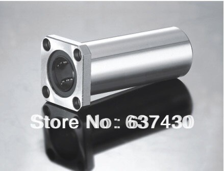 10pcs/lot  LMK35LUU long type with square flange linear bearing