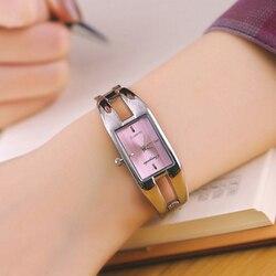 2018 nova quente sller luxo moda quartz relógio de pulso das mulheres senhoras meninas casual pulseira relógios senhoras escritório relógio eletrônico
