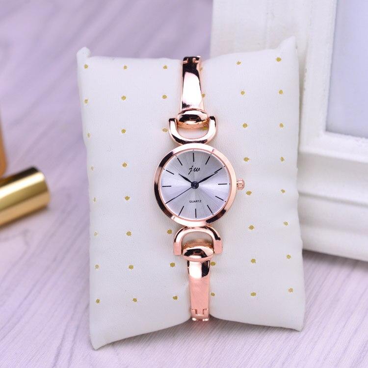 De moda JW reloj marca regalo de las mujeres de lujo pulsera de acero inoxidable relojes casuales de mujer pulsera reloj dama cuarzo reloj