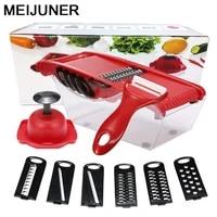 meijuner vegetable cutter stainless steel vegetable slicer kitchen accessories decoration home gadgets items for kitchen mj222