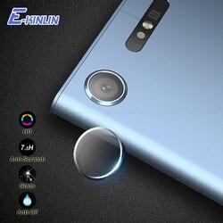 Задняя Защитная пленка для объектива камеры из закаленного стекла для Sony Xperia XZ XZS X XZ1 XZ3 XZ2 Compact XA XA1 XA2 Plus Ultra Z5 Premium L2