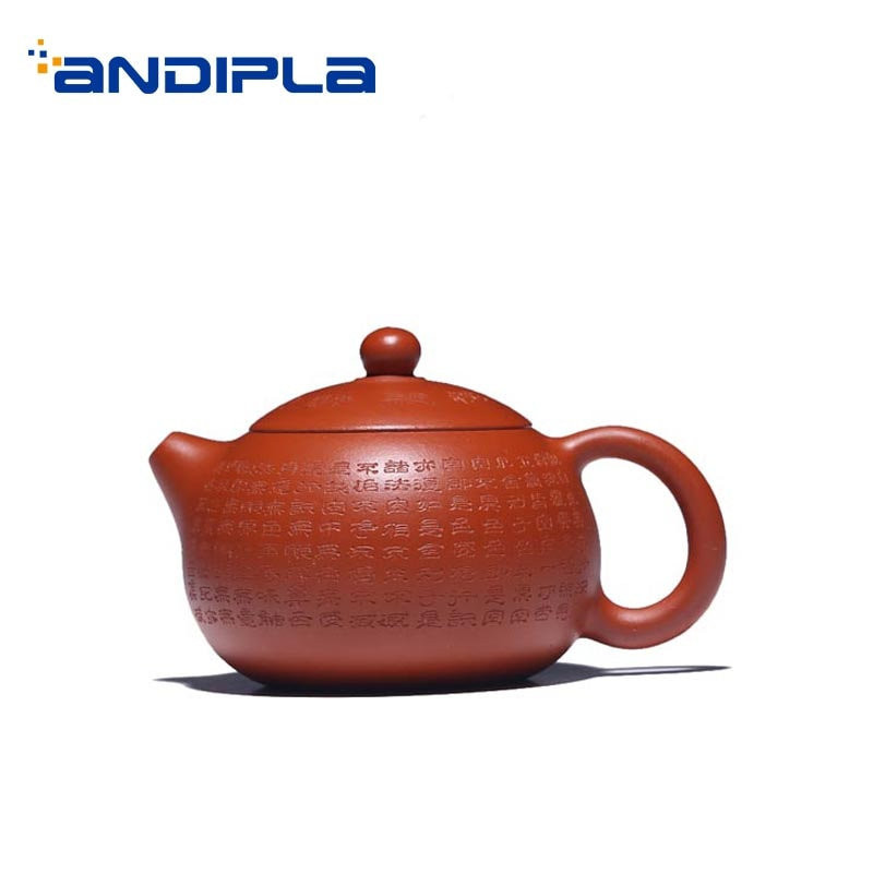 Yixing-إبريق شاي صغير Xishi مصنوع يدويًا من الطين الأرجواني ، خام Zhu ، إبريق شاي أسود صغير ، غلاية أولونغ ، هدايا ، 100 مللي