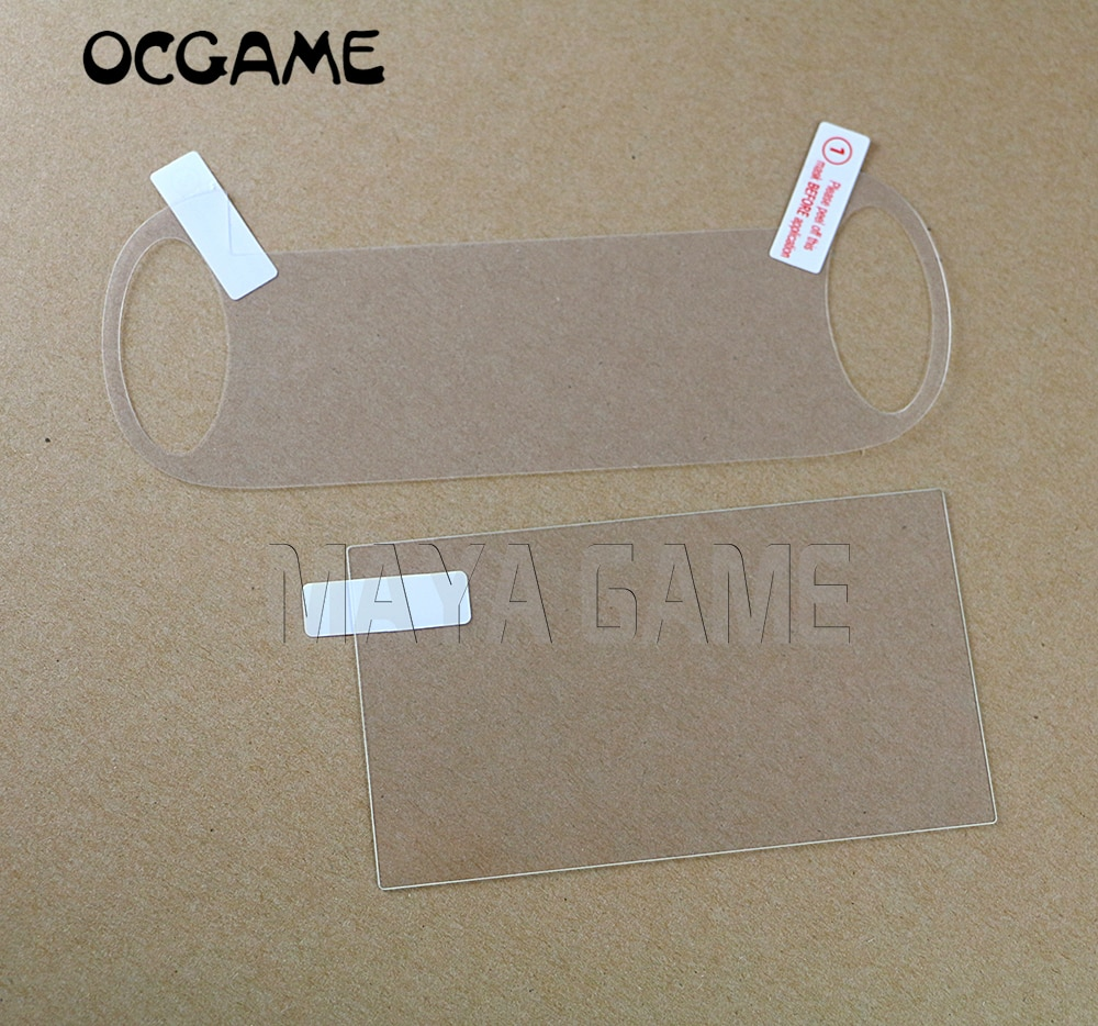 Закаленное стекло OCGAME 3 компл./лот, прозрачная защитная пленка для экрана Full HD, Защитная пленка для консоли PSV 1000