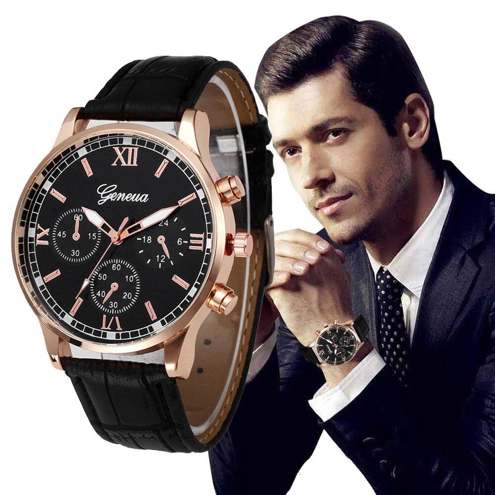 Reloj mecánico automático de marca de lujo para hombre Tourbillon, reloj de calendario de cuero de negocios para hombre, reloj masculino @ F