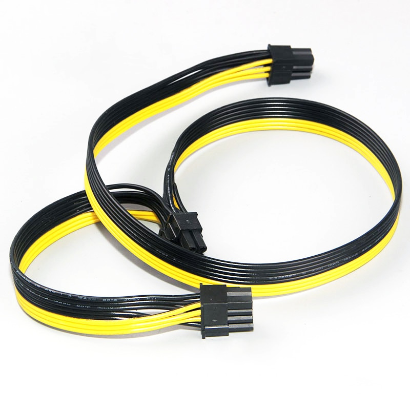 6pin to 2 8pin 6 2 pin for miner molex 6 pin pci e to 2 pcie 8 6 2 pin graphics video card pci e vga splitter hub power cable Modular PSU Power Supply Cables PCI e Molex 6pin to 2 PCI-e 8 pin 6+2pin PCI Express Internal Power Splitter Ribbon Cable