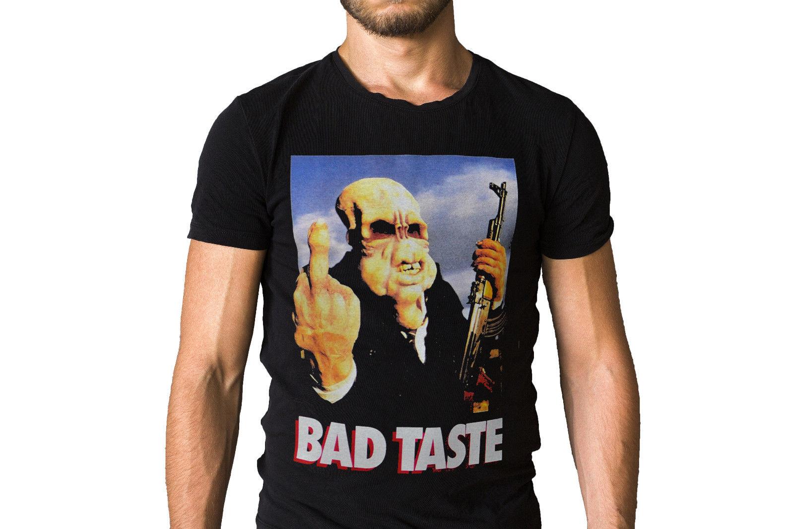 Camiseta con póster de película Bad Taste 1987