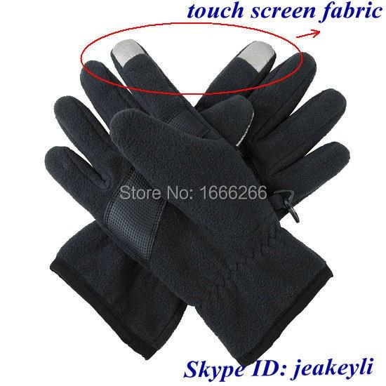 Tela conductora ni-co para guantes de pantalla táctil inteligentes móvil Android