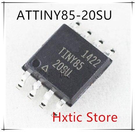 10 قطعة ATTINY85-20SU ATTINY85 TINY85 SOP8 جديد IC MCU 8BIT 8KB فلاش 8 سويش