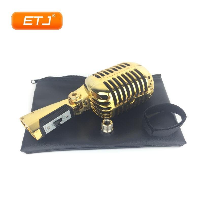 55 SH 55SH Serie ll Pro Metal clásico de lujo dinámico micrófono Retro Vintage para cantar Shows de estudio de grabación