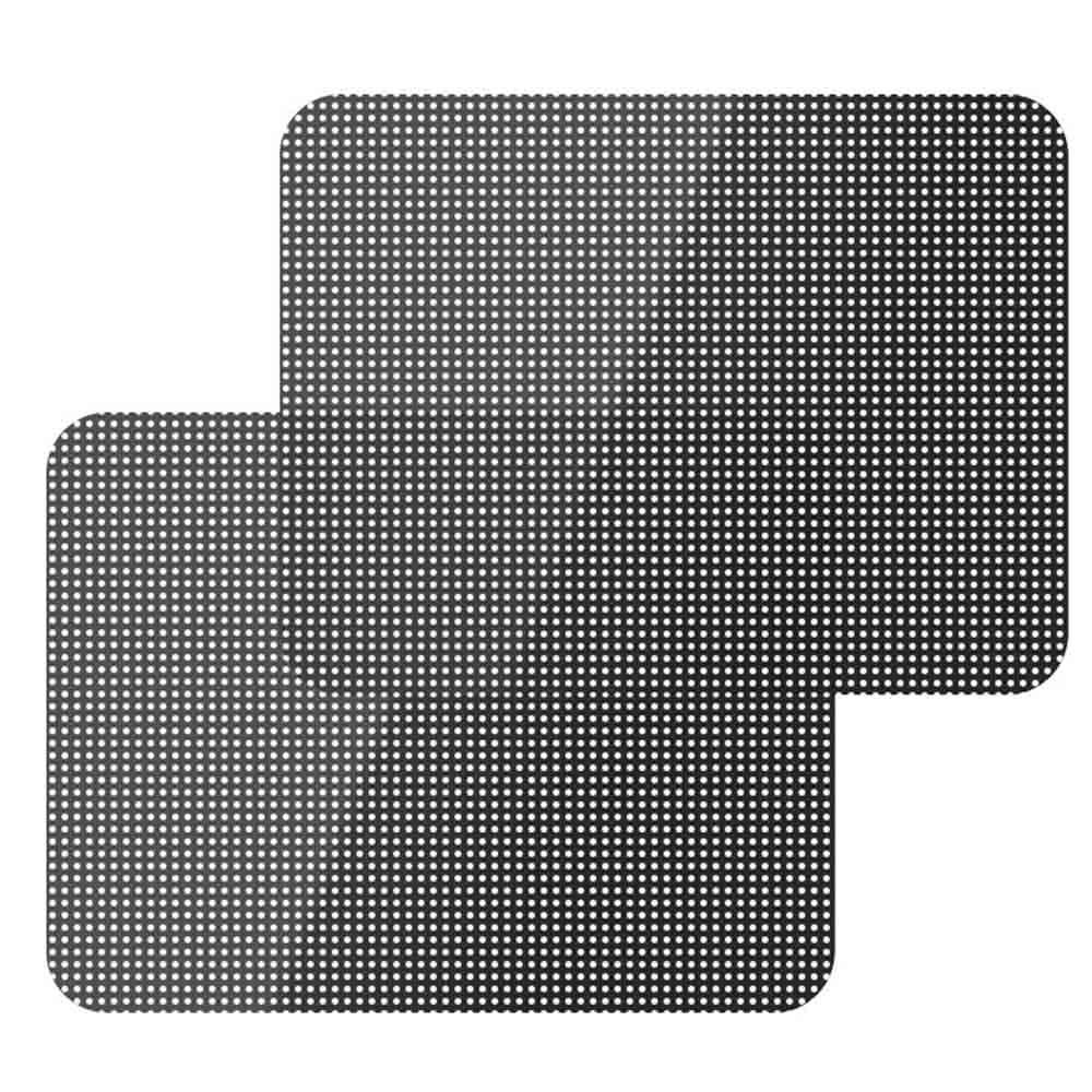 2Pcs DIY Car Sun Shades Film Window Side Window Sunshades Shade Cover Block Static Cling Visor Shield Screen Sticker 72x52cm