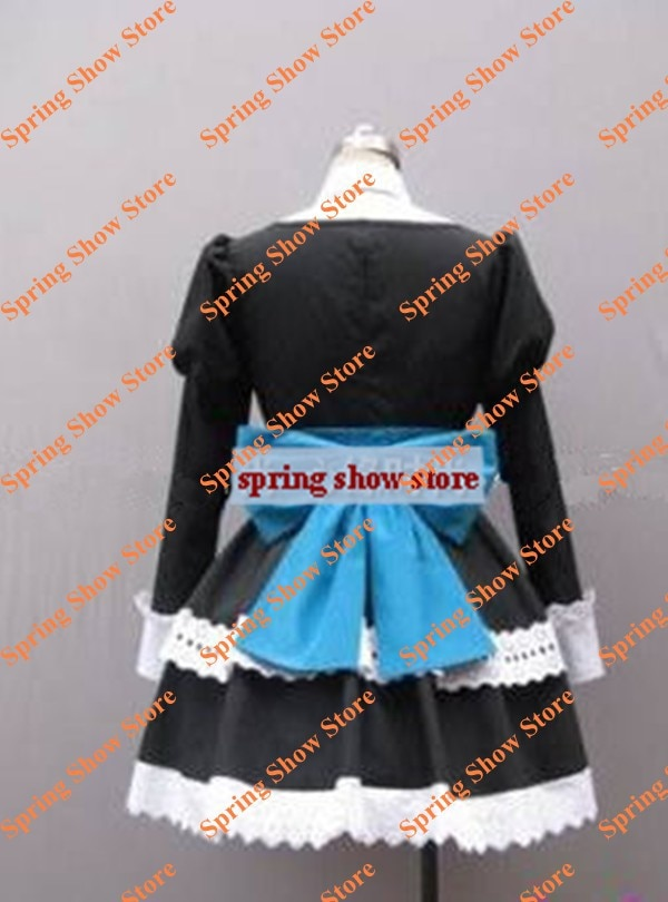 Panty & Stocking with Garterbelt Heroine Anarchy Stocking Black Dress Cosplay Costume