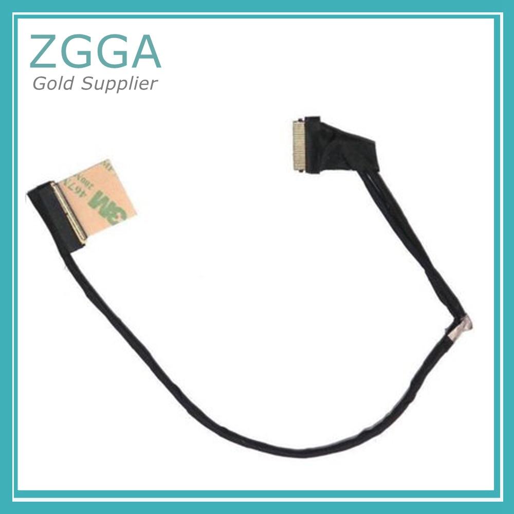 Genuino LCD de Video de nuevo Cable para Dell Inspiron 7537 15 7000 portátil 40pin pantalla LED pantalla Flex Cable 50.47L03.011 DCXMF 0DCXMF