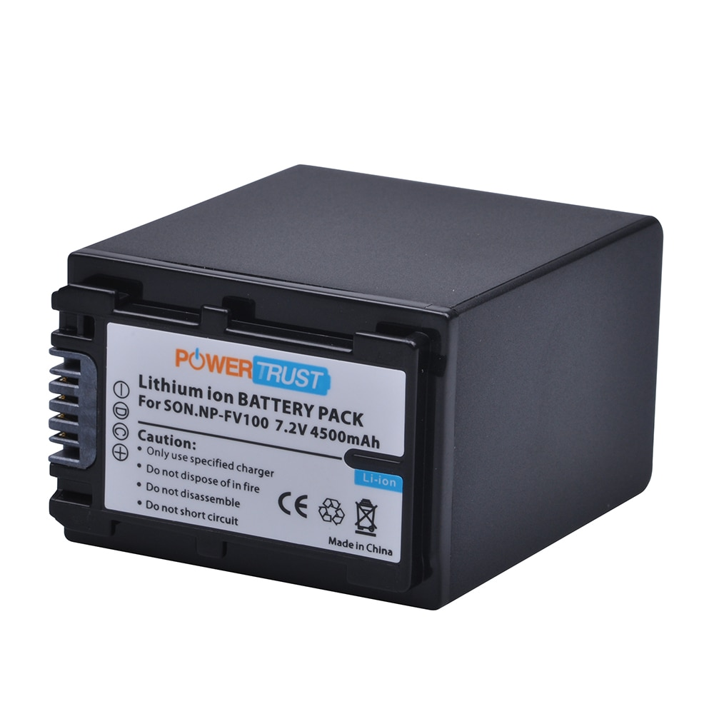 1Pc 4500mAh NP-FV100 NPFV100 NP FV100 FV100 Li-Ion batería para Sony DCR-DVD103 XR100 HDR-XR550/E HDR-XR350/E HDR-XR150/E Camera