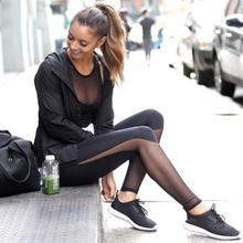 Collants de sport pour femmes pantalons de Yoga Fitness Sexy Leggings de gymnastique maille Patchwork taille haute dames maigre Calzas Deportivas Mujer Legins