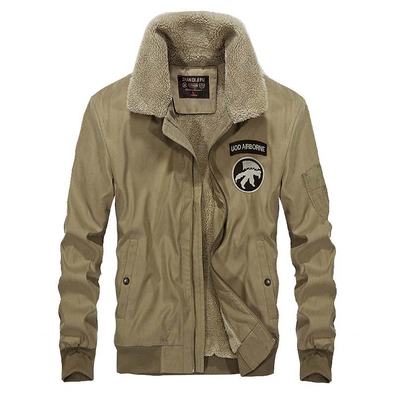 Зимняя мужская куртка, Военная Тактическая теплая флисовая куртка, плотная одежда, бархатная теплая куртка, ветровка, парка с хлопковой под...