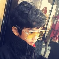 kottdo fashion sunglasses square glasses frame children outdoor sunglasses uv400 baby glasses children sunglasses boys girls eye
