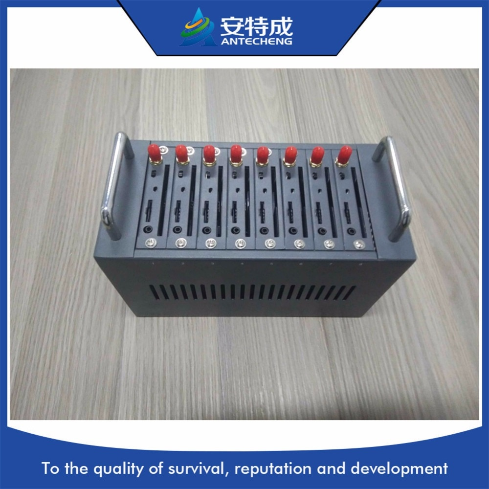 Multi sim 8 port gsm modem pool for bulk sms sending and receiving 850/900/1800/1900 MTK 8 port modem