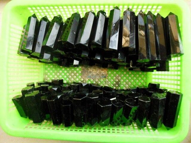1000g(2.2lb) NATURAL OBSIDIAN quartz crystal point Healing Wholesales
