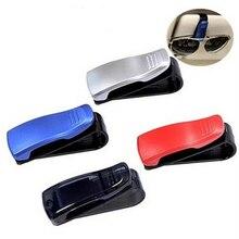 Visière pare-soleil pour véhicule automobile ABS   Lunettes de soleil, pochette pour billets, Clip de fixation Auto, accessoires Auto