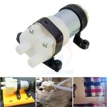 Pompe à Air refroidi à leau 12V R385   Réservoir daquarium eau de diaphragme, pompe Max 3M tête