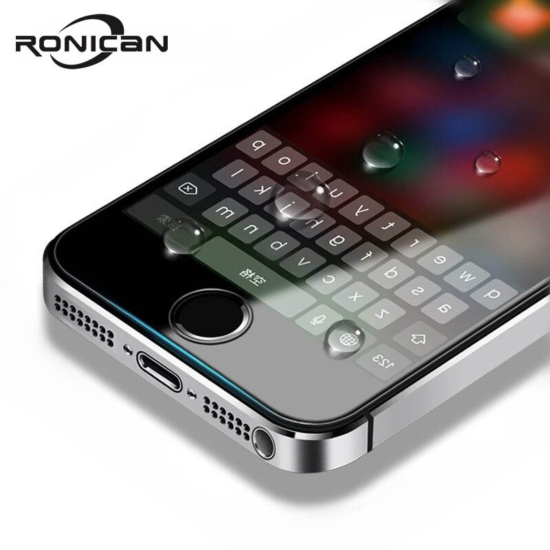 For Apple iPhone 5 Tempered Glass Film RONICAN 0.26 mm 2.5D 9H Hardness HD Tempered Glass Screen Pro