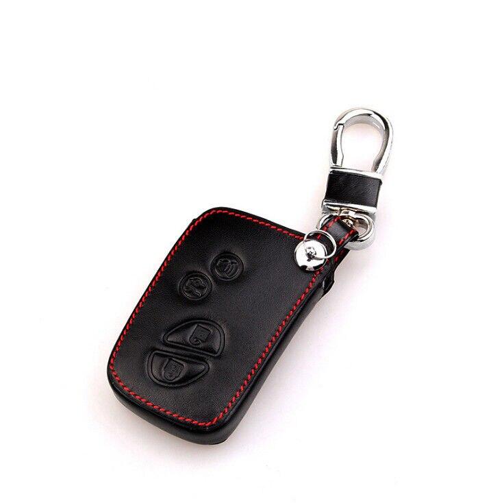 Para lexus chave remoto caso 4 botões caso de couro gx 1 pçs profissional hyq14aab é universal