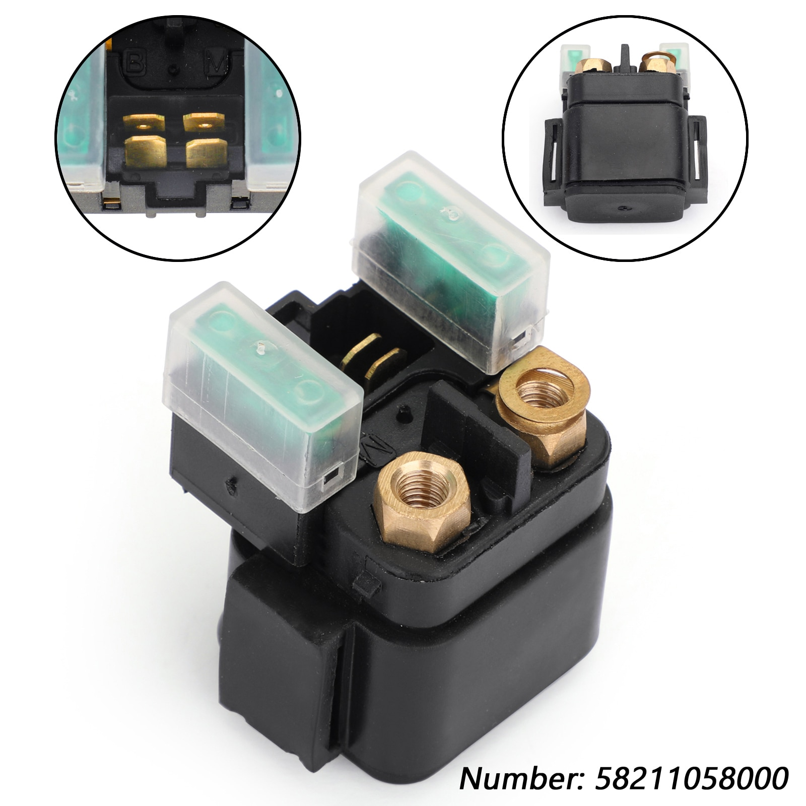 Areyourshop Starter Relay Solenoid For 200 250 300 350 400 450 EXC E F SXF XC SMR Racing NEW Motorcycle Accessories Parts