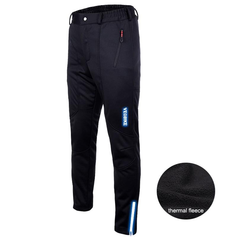 Pantalones térmicos impermeables de invierno de lana para ciclismo, pantalones cortos para ciclismo para hombre, pantalones para bicicleta a prueba de viento para correr, Fitness, esquí, senderismo, medias