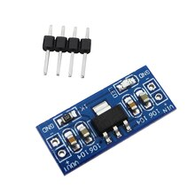¡Oferta! 1 Uds. AMS1117 4,5-7 V turn 3,3 V DC-DC módulo de fuente de alimentación reductor Raspberry pi