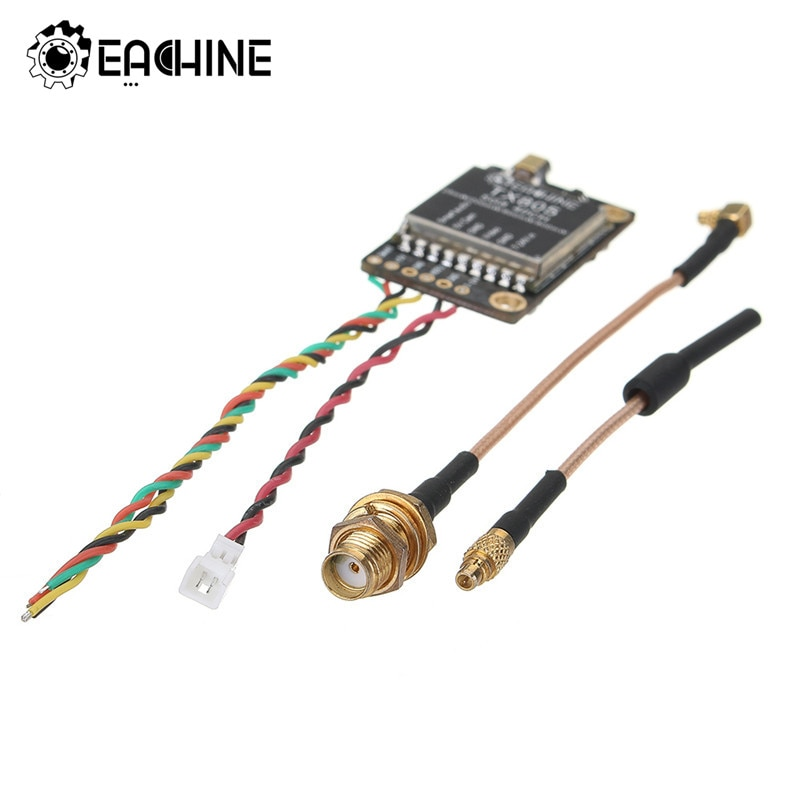 Eachine TX805 5,8G 40CH 25/200/600/800mW FPV transmisor VTX pantalla LED compatible con OSD/Pitmode/Smartaudio remoto FPV partes