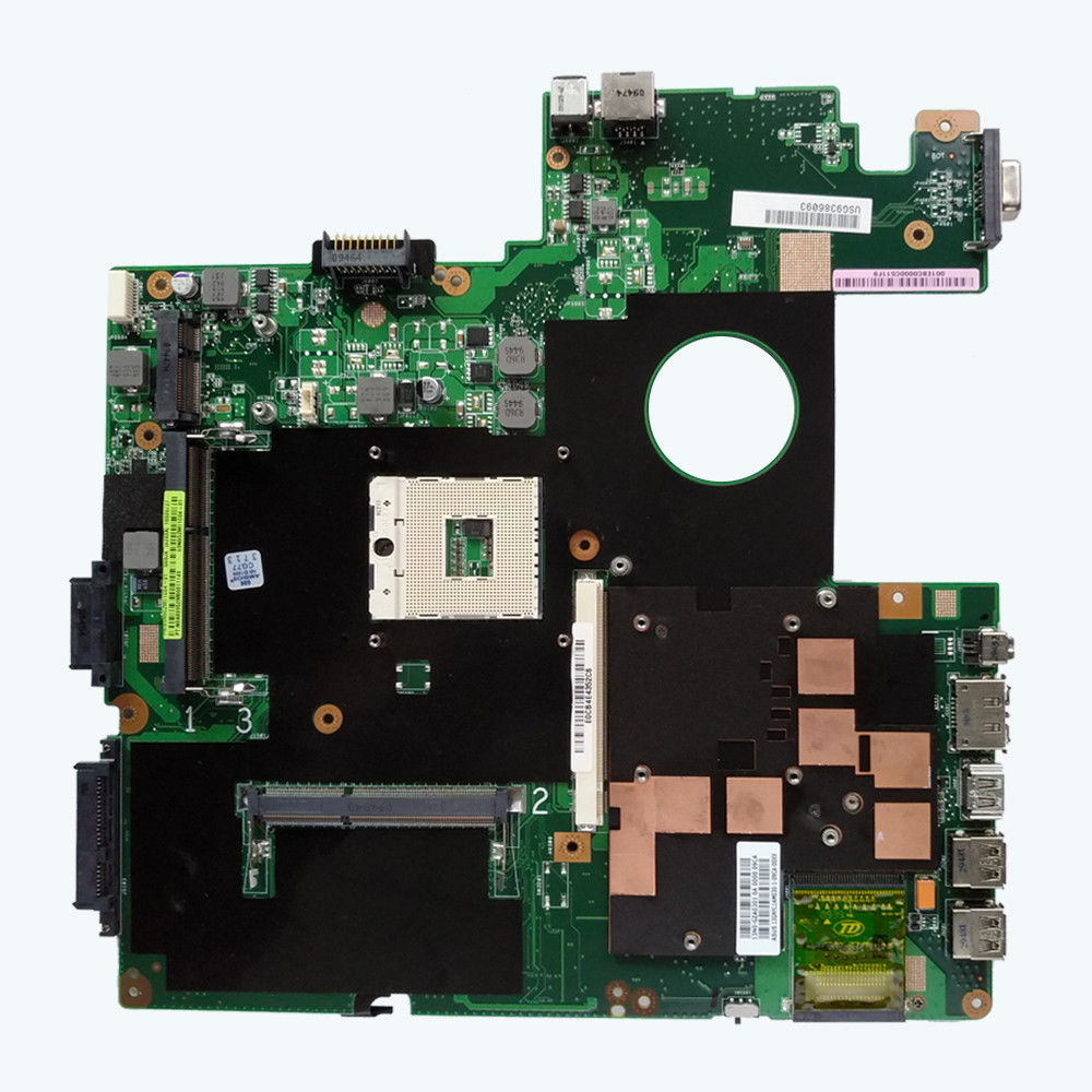 Motherboard Para ASUS G51J G60J G51JX HM55 G60JX laptop motherboard ddr3 Frete Grátis 100% teste ok