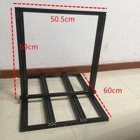Funssor Creality CR-10 S4 3D Printer Extrusion Metal Frame Kit 400mm size 2020/2040 v-Slot mechanical kit
