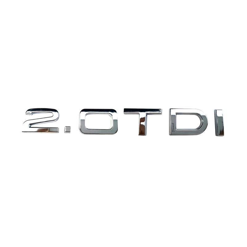 3D пластик хром 2.0TDI автомобильные наклейки эмблемы Значки Эмблемы эмблемы