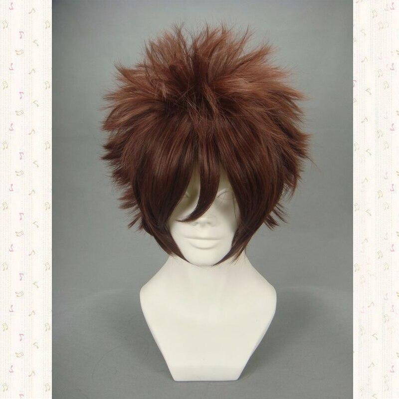 Аниме Цифровой Монстр дигимон Приключения Косплей Ягами тайчи парик волос синтетический костюм парики + парик