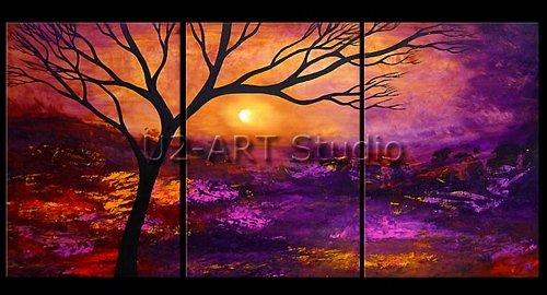 Pintura abstracta, decoración, Arte Fino, adorno, pinturas al óleo de reproducción