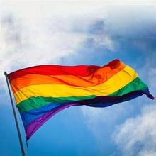 90x150cm LGBT Flag Gay Friendly Rainbow Flag Pro Lesbian Gay Pride Banners  Colorful Rainbow Flag For Gay Right Parade