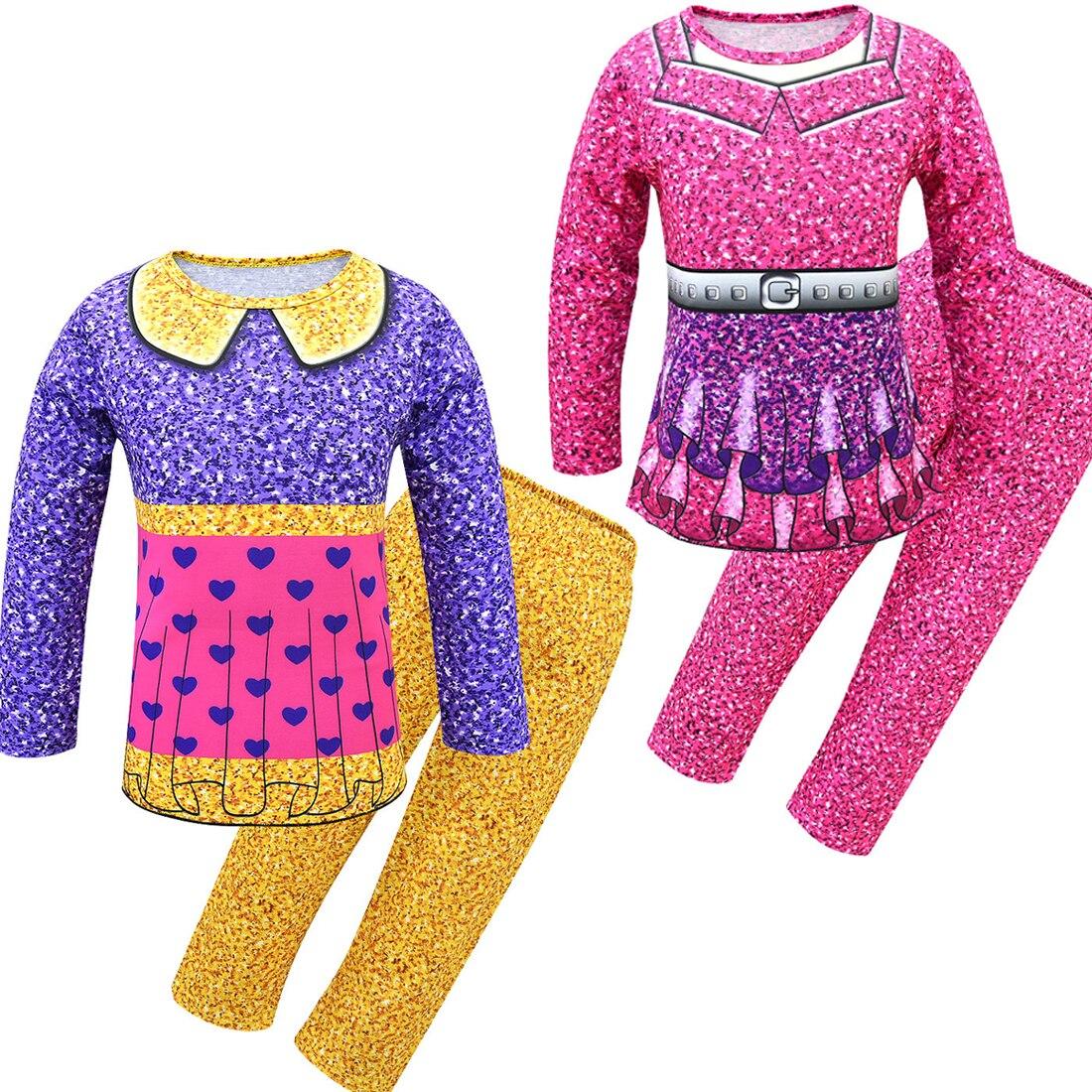 Crianças pijamas lol festa de aniversário pijamas conjunto crianças moda 2019 pijamas para meninos meninas roupas de ação de graças ternos