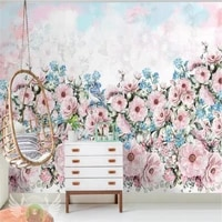 custom wallpaper garden flowers wallpaper living room tv background wall painting high grade waterproof material