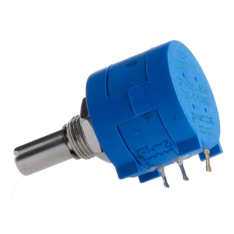 3590s-2-103l 10 k ohm giratório wirewound potenciômetro de precisão 10 turn # aug.26