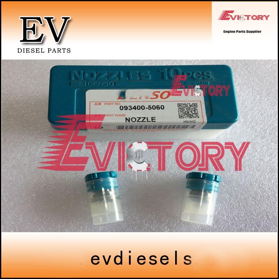 S4L S4L2 injector nozzle for Peljob EB350 EB406 excavator