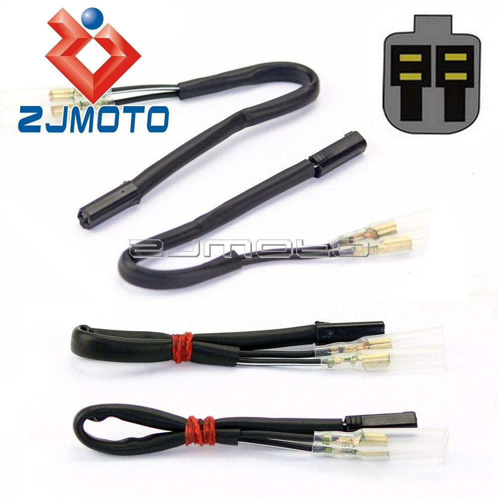 Указатели поворота адаптеры провода разъем для Suzuki GSX R600 R750 R1000 TL1000 SV650 Boulevard SV650 SV1000 GSF600 GSF1200