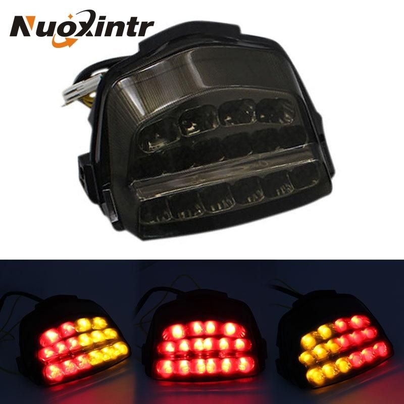 Luz trasera de freno Nuoxintr para motocicleta, luz LED, nuevos accesorios para motocicleta Honda CBR1000RR 2008-2016