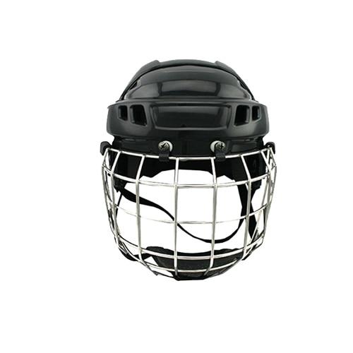 CE approval black ice hockey helmet head protection for free shipping hockey equipment